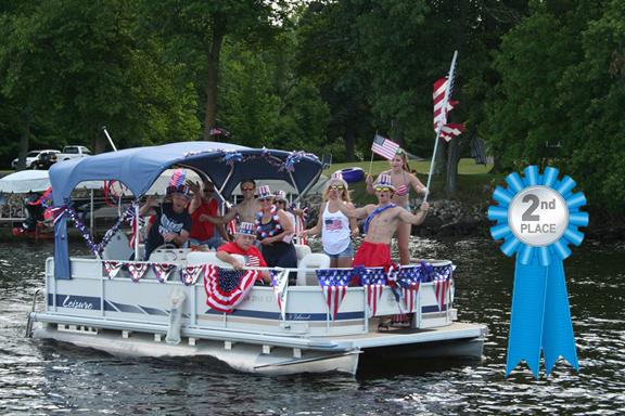 2016 LSA Boat Parade - 2nd Place